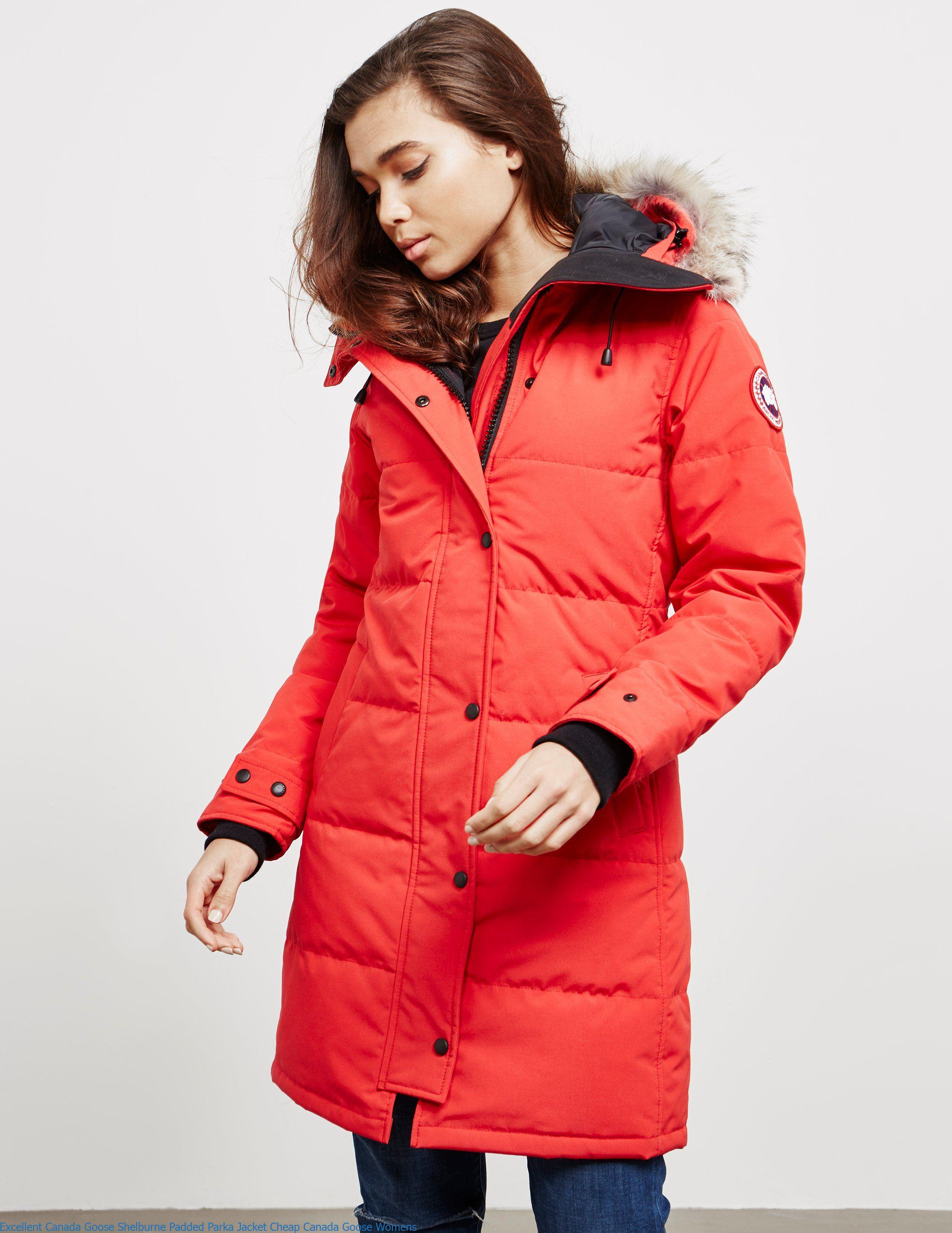 aa3f5cebde20 Excellent Canada Goose Shelburne Padded Parka Jacket Cheap Canada Goose  Womens – Canada Goose Sale Outlet Cheap Parka Online Shop