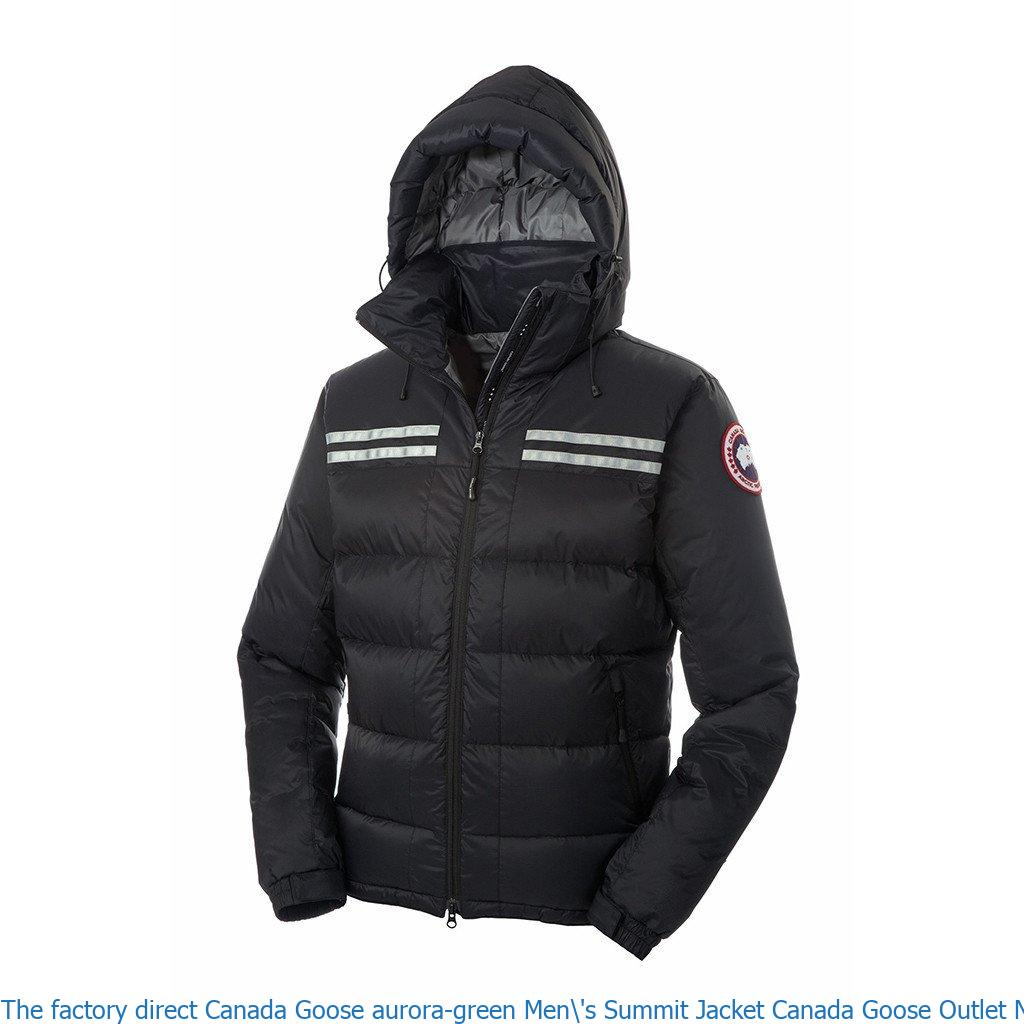 The factory direct Canada Goose aurora-green Men\'s Summit Jacket Canada  Goose Outlet New York City 101110974 – Canada Goose Sale Outlet Cheap Parka  Online Shop, Free Shipping